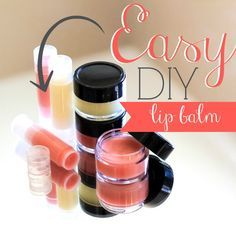 Daily Mom » Easy DIY Lip Balm