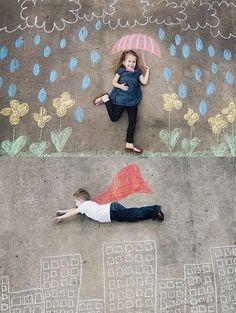 Erstellen Sie zusammen mit den Kindern die tollsten Kreidebilder und Kunst! - Seite 8 von 8 - DIY Bastelideen