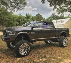 #Dodge #Ram_2500 #Cummins #Modified #Lifted Jacked Up Trucks, Ram Trucks, Dodge Trucks, Diesel Trucks, Cool Trucks, Pickup Trucks, Lifted Dodge, Dodge Ram Pickup, Lifted Jeeps