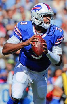 Buffalo Bills quarterback EJ Manuel