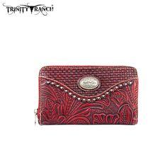 Montana West Trinity Ranch Genuine Leather Wristlet Wallet (TR26-W003) – Handbag-Addict.com