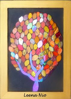 Bold- small mosaic tree
