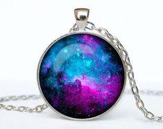 Orion nebula necklace Orion nebula pendant Galaxy jewelry Universe pendant
