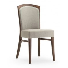 Tiffany Dark Wood Side Chair - from Ultimate Contract UK