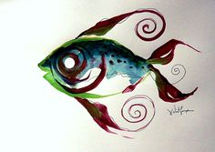 fish paintings   The Original Fish Art, Fish Paintings, and Other Fine Art Designs of J ...
