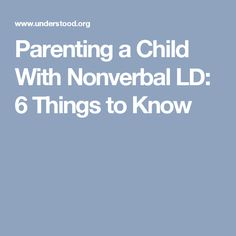 Evaluating Your Child For Nld >> 13 Best Student Board Nvld Testimonies Images In 2017 Reading