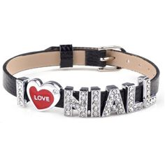 Imixlot Unisex Kristall Schweber Buchstabe I Love Niall One Direction... ($6.73) ❤ liked on Polyvore featuring jewelry, bracelets, one direction, accessories, 1d, armband jewelry, unisex jewelry and i love jewelry