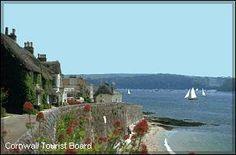 St Mawes The Roseland Peninsula Cornwall
