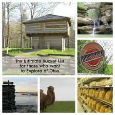 The Ultimate Bucket List for those who want to Explore Ohio with enough ideas to keep you busy all year. How many of these ideas would you like to see? Ohio Is For Lovers, Oh The Places You'll Go, Places To Visit, Stuff To Do, Things To Do, The Buckeye State, Adventure Is Out There, Staycation, Vacation Spots
