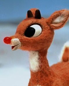 Christmas Cartoons, Christmas Characters, Christmas Movies, Rudolph Red Nosed Reindeer, Rudolph The Red, Christmas Tree Lots, Retro Christmas, Christmas Decor, Xmas