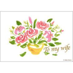 母の日カード0020,グリーティングカード,カード,母の日,ピンク,花,季節,イラスト,バラ