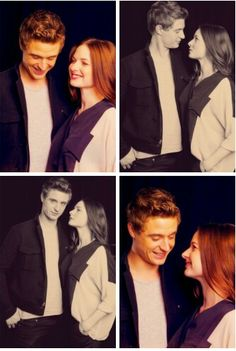 Max Irons and Rebecca Ferguson. The White Queen