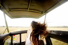 Travel Beauty tip: Let your hair down once in a while.  #FunFashion #Travel