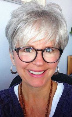 Short Grey Hair - Google Search