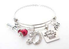 Handmade Jewelry Super Mom Stainless Steel Inspiration Key Chain 112