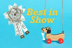Our cute little Dog on Wheels Necklace might not be competing at Crufts this week, but we think he's Best in Show! Read all about it now: http://www.tattydevine.com/blog/2014/03/and-they-call-it-puppy-love/