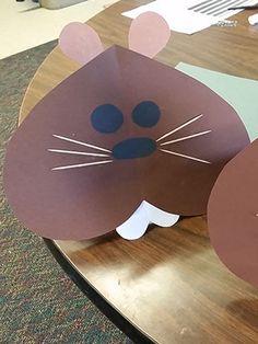 Groundhog Mask Craft
