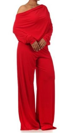 af208aa3a3ffa Shop Kami Shade  - Chic Red Long Sleeve Reversible Jumpsuit