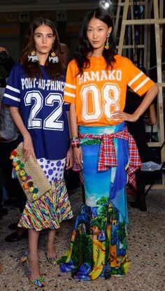 Milan Fashion Week- Stella Jean-2015 Spring- Backstage