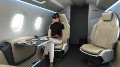 Bussines jet cabin concept on Behance
