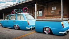 Custom fitted Lada wagon