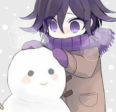 Pictures of Purple Hitler. Also, anyone who hasn't finished Danganronpa game, dont read. New Danganronpa V3, Danganronpa Characters, Leprechaun, Kawaii, Fairytail, Nagisa Shiota, Ouma Kokichi, Nagito Komaeda, Fanart