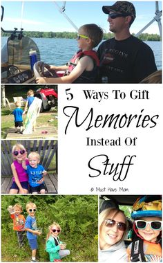 5 Ways To Gift Memories Instead Of Stuff! this Christmas! Forgo all the extra stuff that no one needs and do this instead! #sponsored