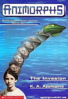 Animorphs. Not usually a sci-fi fan, but this series is so well-written!  Loved to read book #1 to my classes!  An edge-of-your-seat book from beginning to end!