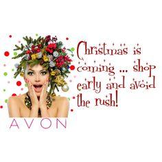 """Shop AVON this Christmas"" www.youravon.com/shshaunathompson"