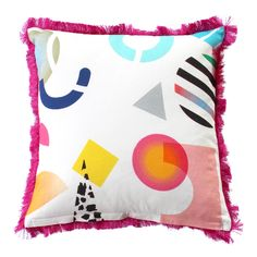 In collaboration with Studio 10's Jessica Rowe, the proceeds of every sale of this cushion will go to the R U OK day campaign. Cotton Canvas 50 x 50 cm frin