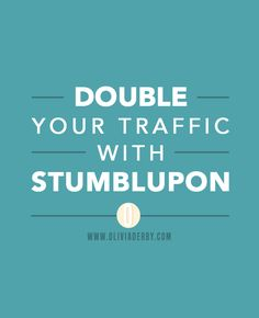 Learn how to use StumblUpon to drive MASSIVE traffic to your blog with this 15 minute daily routine.