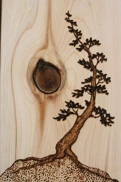 Pirografia - Fogo na madeira - Casa do Criativo