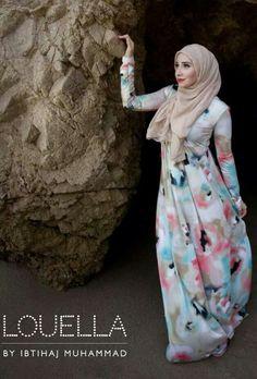 Hijab and abaya is the Muslim women attire that covers him. The trend of hijab and abaya is increase Hijab Fashion 2016, Arab Fashion, Islamic Fashion, Muslim Fashion, Modest Fashion, Muslim Wedding Dresses, Muslim Dress, Hijab Dress, Dress Wedding
