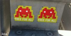 [Street Art in Paris] Free for all !