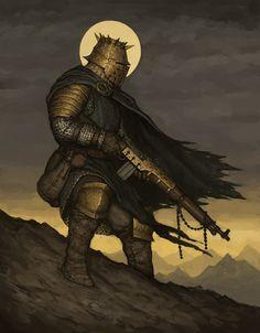 Holy Warrior, Ariel Perez on ArtStation at https://www.artstation.com/artwork/9BXAv