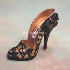 Gorgeous cake shoe