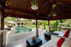 Villa San in Ubud. Sleeps 15.