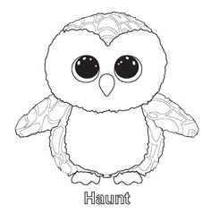 Ty beanie boo coloring pages download and print for free Boos