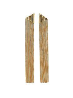 Jack Vartanian 18K gold fringe earrings www.jackvartanian.com