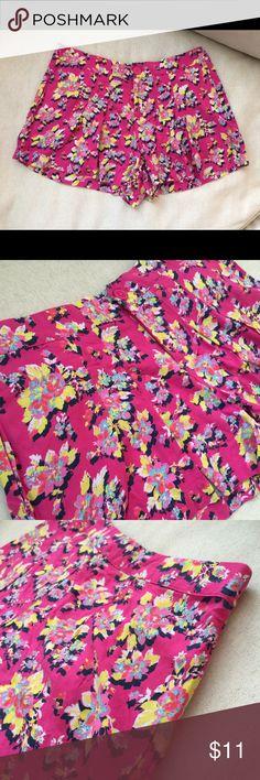 Selling this Floral pleated shorts on Poshmark! My username is: s_ellene. #shopmycloset #poshmark #fashion #shopping #style #forsale #Pants