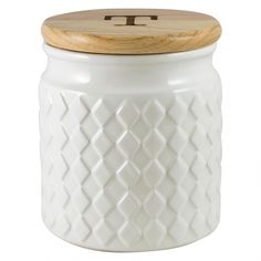 Coffee Canister Airtight With Scoop #coffeeadict #CoffeeCanister Tea And Coffee Canisters, Kitchen Canisters, Kitchen Storage, White Laundry Hamper, Fresh Coffee Beans, White Tray, Fair Trade Coffee, Types Of Curtains, Copper Kitchen