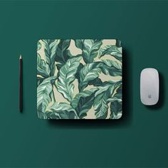 Palm Leafs Mouse Pad