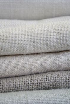 A fresh selection of linen fabrics in neutral colours is all part of Sarah Hardakers classic style and Plain Vintage Linen Fabric Collection Lino Natural, Natural Linen, Linen Fabric, Linen Bedding, Grey Fabric, Bed Linen, Cotton Fabric, Linens And Lace, Fabric Textures