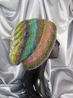 I have a skein of this Noro yarn. Love this look!