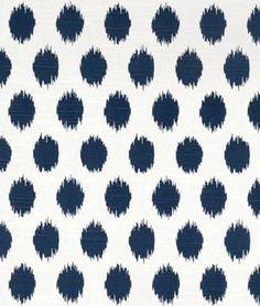 JoJo Black White Cotton Drapery Fabric by Premier Prints Designer Floral Print Fabric, Ikat Fabric, Drapery Fabric, Cotton Fabric, Orange Fabric, Blue Fabric, Floral Prints, Black And White Pillows, Black White