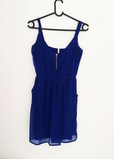 Kup mój przedmiot na #Vinted http://www.vinted.pl/kobiety/krotkie-sukienki/9825407-granatowa-letnia-sukienka-stradivarius-rs