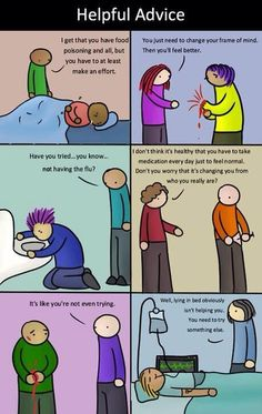 What if physical illness was treated the same way mental illness is?