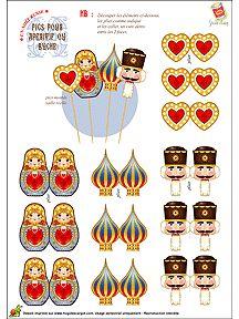 pins and hair accessories matryoshkas, nut crackers, russian influences Nutcracker Crafts, Nutcracker Christmas, Noel Christmas, Christmas Paper, Christmas Crafts, Xmas, Christmas Ornaments, Easy Paper Crafts, Matryoshka Doll