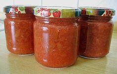 Jahodovo  rebarborový  džem
