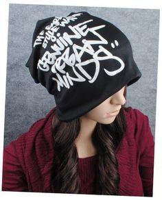 533814b7eb0 Free shipping 1 pcs new winter graffiti letters Skullies Beanies hats men  and women knit caps